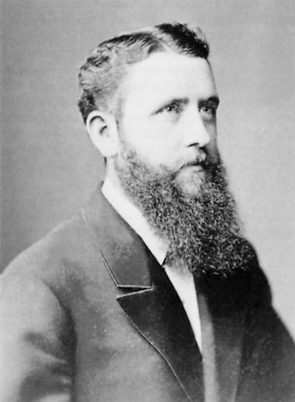Otto Schoetensack (1850 – 1912) auf einem Foto von 1882 (Quelle: Wikipedia)
